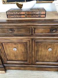 brown wooden 2-drawer chest Huntington Beach, 92648