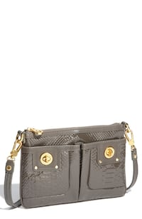 "MARC JACOBS ""PERCY TURNLOCK PYTHON SHINE"" crossbody"