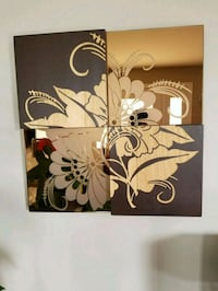white and brown floral wall decor Gatineau, J8P 2T5