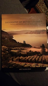 Geography of British Columbia Text Book Vancouver, V6P 4J3