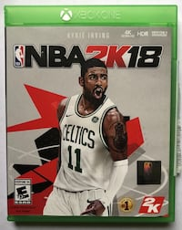 2K18 Xbox one preowned no scratches  Woodbury, 55125