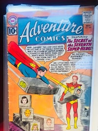 Silver age action and adventure comics