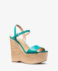 Michael Kors Fisher Leather Wedge Los Angeles, 91326
