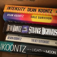 18 Dean koontz book collection