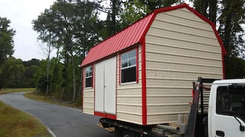 We Move Sheds / Portable Buildings!
