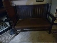Hubbard, Eldredge and Miller 1900's library bench Wardensville, 26851