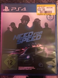 Need for Speed PS4 Spieletui