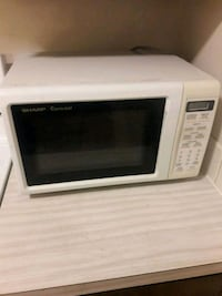 white and black microwave oven Colorado Springs, 80915