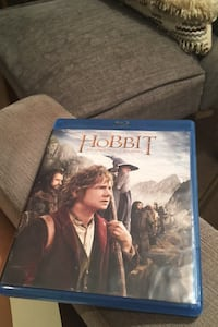 The Hobbit Blu-ray with special features disc