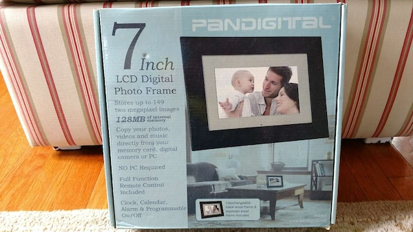 Used Pandigital 7 Inch Lcd Digital Photo Frame For Sale In
