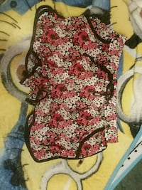 women's red and white floral print dress Denver, 80229