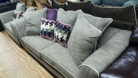 New Display Gray 2Pc Sofa and Love Seat  Fort Worth, 76119