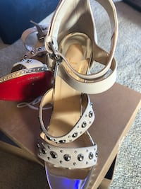 Christian Louboutin  size 39/5, worn once indoors