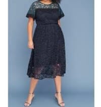 Brand new Lane Bryant Women's Colorblock Lace Midi Dress size 16 (pick up only) Alexandria, 22310