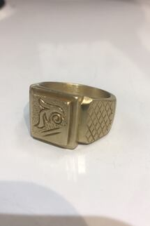 Men's Gold Ring 17.22g 630 obo