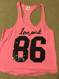 pink and black tank top Calgary, T3C 0M4