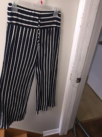 black and white striped pants Laval, H7K 1Y5