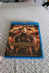 The Hunger Games Mockingjay part 1 in Blu-ray