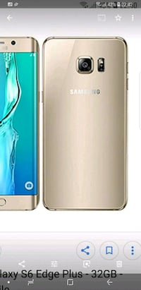 Gold Samsung Galaxy S6 edge  Ås, 1407