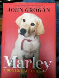 """Hardcover """"Marley A Dog Like No Other """" Cranston, 02920"""