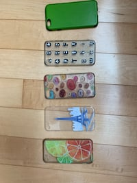 5 iPhone 8 cases - pick up North York all $5 Toronto, M2N 7L8