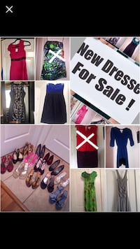 Mix and match dresses and sandals and size s-m and shoe 7-7.5