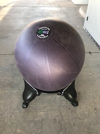 Exercise ball with chair  Yuma, 85364