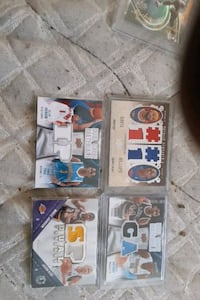 Dual Game used lot (NBA)#'d