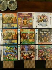 Nintendo DS and 3DS games Toronto, M4N