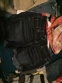two black and one blue denim shorts Brownsville, 78520