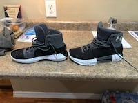 Brand new. 9.5 size under armour shoes. Forgot I bought them and they don't fit Oglesby, 61348