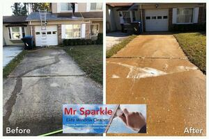 We clean all exterior surfaces!