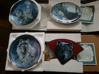 Antique wolf plates London, N5W 3V3