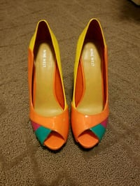Nine west high heels, unused, 9.5  Richmond, V7C 3J4