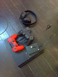 Original PlayStation 4 with additional accessories