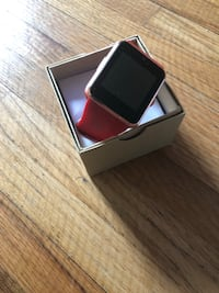 New smartwatch red band Omaha, 68132