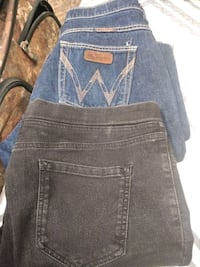 Wrangler jeans New and another pair of jeans size