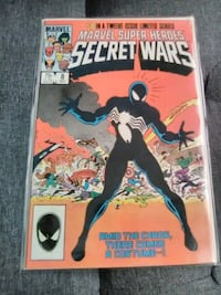 Marvel Secret Wars(first appearance of black suit)