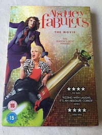 """DVD """"Absolutely Fabulous The Movie"""""""