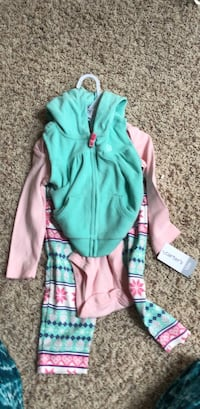 carters baby hoody new  12 months Orland Park, 60467