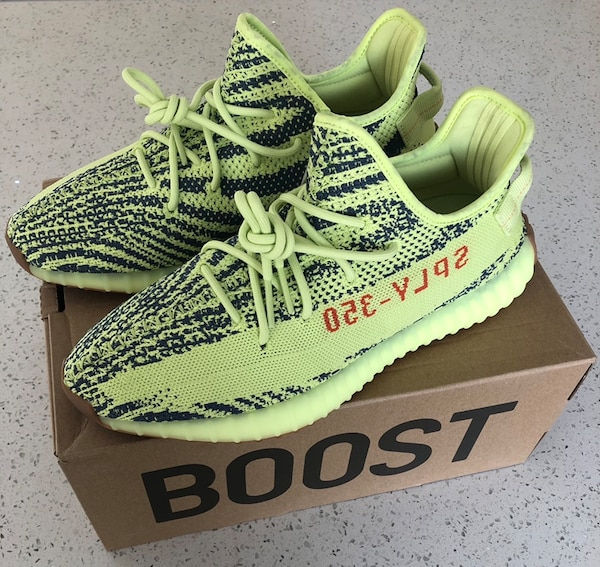 sports shoes 2cdff faee9 Adidas Yeezy Boost 350 V2 Frozen Yellow. Size 11