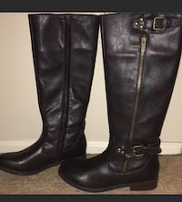 NEW Report dark brown riding boots