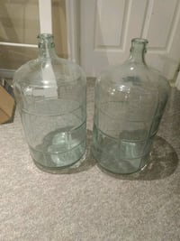 2 Glass Container