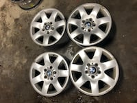 "16"" BMW Rims and Snow Tires for Sale!  Bradford West Gwillimbury, L3Z 2A4"