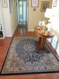 Used Navy Blue Oriental Rug For Sale In Crofton Letgo