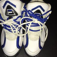 white-and-blue Nike basketball shoes Colorado Springs, 80917