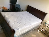 white and black floral mattress Gaithersburg, 20878