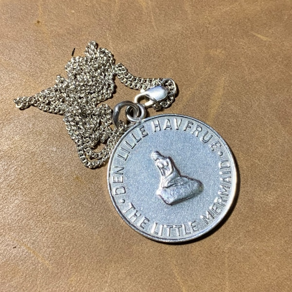 Sterling Silver Hans Christian Pendant Charm with Sterling Chain 73f5dd8e-a198-4e7c-8b97-cc235d03d7c9