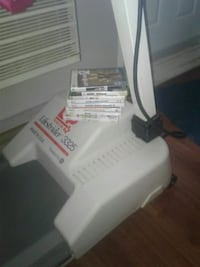 Wii games and treadmill