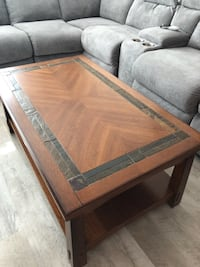 rectangular brown wooden coffee table Manchester, 08759